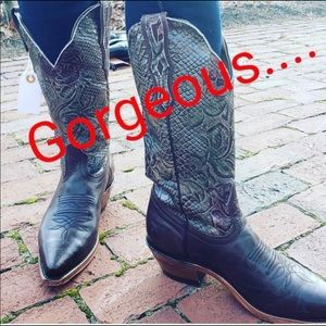 BOULET of Canada Western Style Boots 8